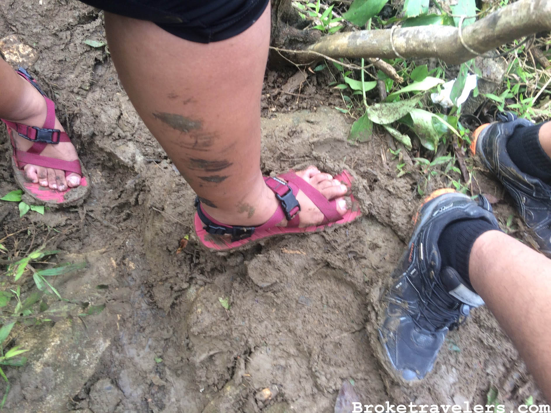 Be ready to get dirty! With this muddy trails.