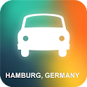 Hamburg, Germany GPS icon