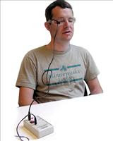 Photo: eye blink switch by enabling devices