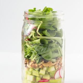Simple Mason Jar Salad.