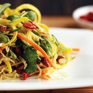 Kelp Noodle Salad.