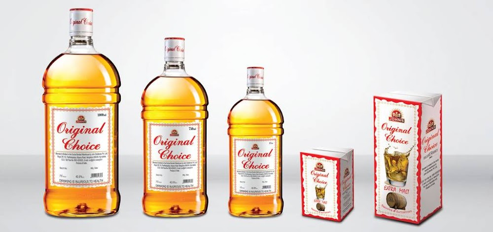 best-whisky-brands-Original-Choice-Price-Rs. 230 for 750 ml.