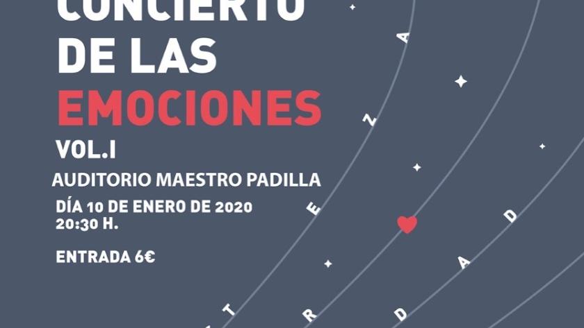 Detalle del cartel del concierto.