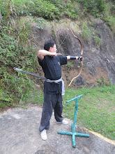 Photo: 傳統射箭的最大特色:使用傳統弓(器材需自備)及採用拇指環引弦法。
