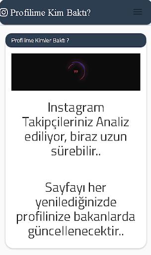Profilime Bakanlar For Instagram screenshot 2