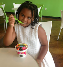 Photo: and wrapping up the afternoon with some Sweet Frog frozen yogurt