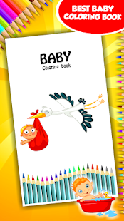 Baby Coloring Book Screenshot Thumbnail