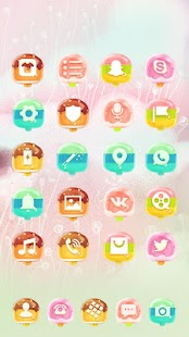 sweet ice cream theme mouthwatering wallpaper - náhled