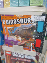 Photo: And who can resist a book with that menacing T-Rex on the cover telling you to buy it!