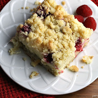 Raspberry Cream Cheese Crumb Cake