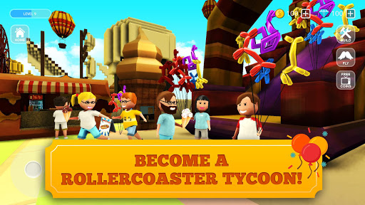 Download Roller Coaster Craft: Blocky Building & RCT Games