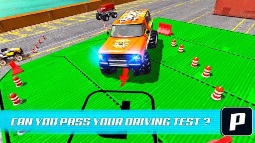 Monster Truck Car Parking & driving Simulator screenshots 3