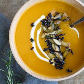 Squash & Wild Rice Soup
