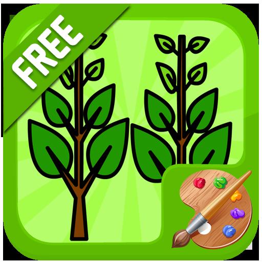 樹著色遊戲 休閒 App LOGO-硬是要APP