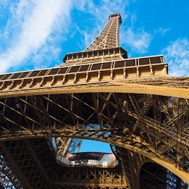 Eiffel Tower by Photoxor AU - Buildings & Architecture Public & Historical ( eiffel tower, paris, sky, france, architecture, steel,  )