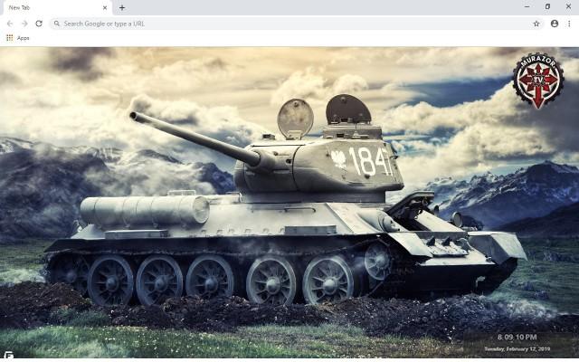 World of Tanks New Tab
