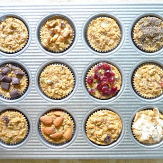 Individual Baked Muesli Cups