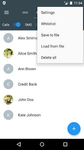 Calls Blacklist PRO - Call Blocker screenshot 3