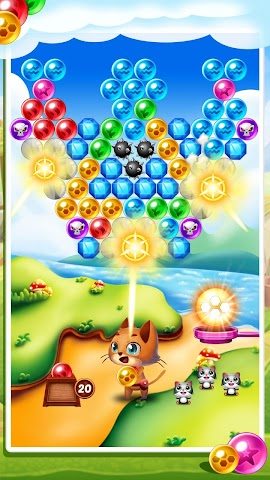 android Witch's Cat Bubble Pop Screenshot 14