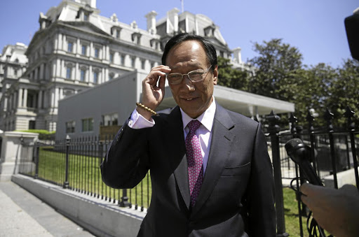 Tech maker:  Foxconn founder Terry Gou has been making various acquisitions in a bid to diversify the company. Picture: REUTERS