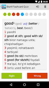 English <> Uzbek Dictionary Slovoed Classic - náhled