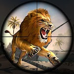 Wild Forest Lion Hunting:Shooting Wild Animals icon