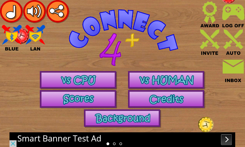 Connect Four Plus- screenshot