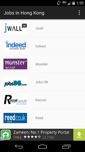 Jobs in Hong Kong