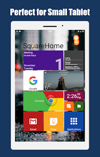 SquareHome 2 - Win 10 style Screenshot