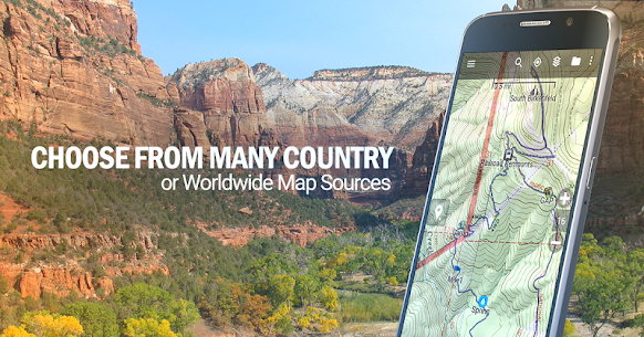BackCountry Navigator TOPO GPS v5.5.7 Mod APK 2