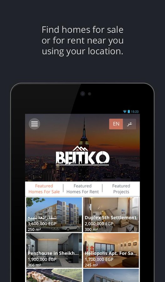 Beitko- screenshot