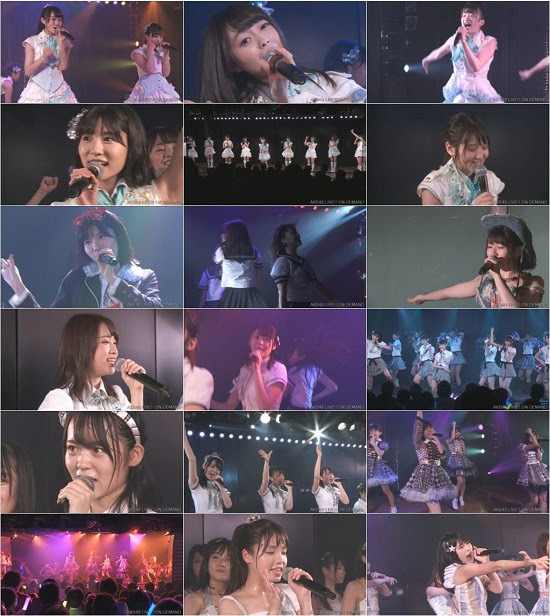(LIVE)(720p) AKB48 あおきー 「世界は夢に満ちている」公演 Live 720p 171020