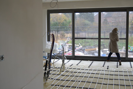 Project Kessel-lo - coördinatie vloerisolatie - chapewerken - beton-cire
