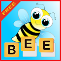 Kids learn to write words icon