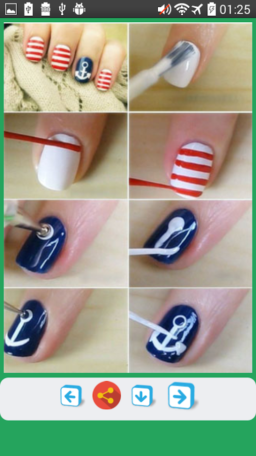 Diy nail art designs tutorials android apps on google play diy nail art designs tutorials screenshot prinsesfo Choice Image