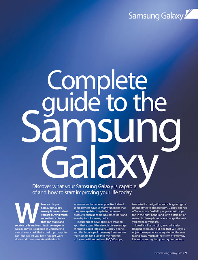 The Samsung Galaxy Book Volume 1 Revised Edition- screenshot