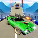 Death Car Race Games : Mega Ramps Stunt Car Racing icon