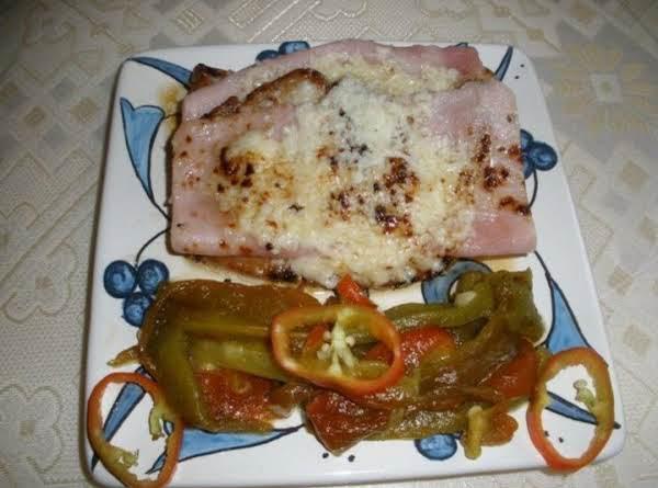 Pork Steak Valdostana (from A Region Of Italy)