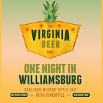 Virginia Beer Co. One Night In Williamsburg