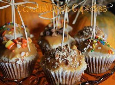 Carmel Apple Cupcakes Recipe