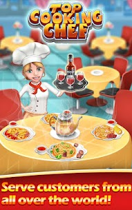 Top Cooking Chef MOD Apk 11.1.3977 (Unlimited Money) 9