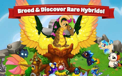 DragonVale MOD Apk (Unlimited Gold/Crystals) 2