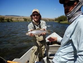 Photo: Brian Flechsig and a nice rainbow- Montana 2012