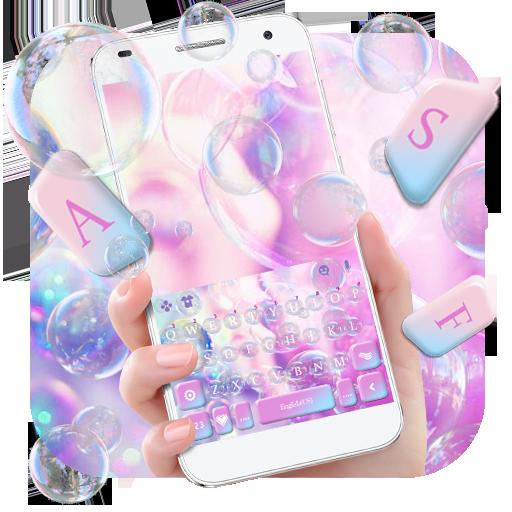 Dreamy Bubble Keyboard Theme Icon