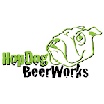 Logo of Hop Dog Works #Whathopisthatnow