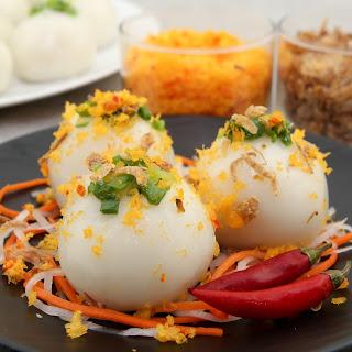 Sticky Rice Dumplings (Banh It Tran) Recipe