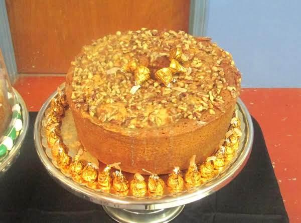 6 Flavor Pecan Nut Glazed Pound Cake Recipe