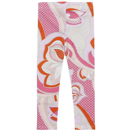 Thumbnail images of Emilio Pucci Printed Leggings