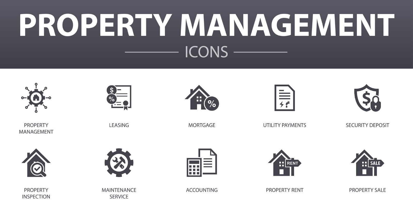 Property Management Icons