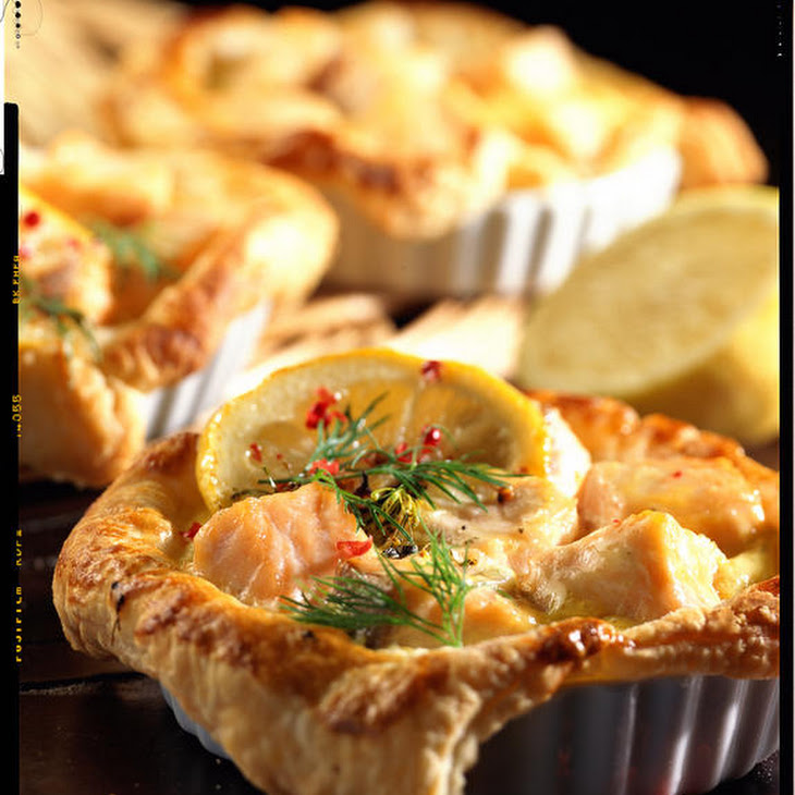 Salmon Puff Pies